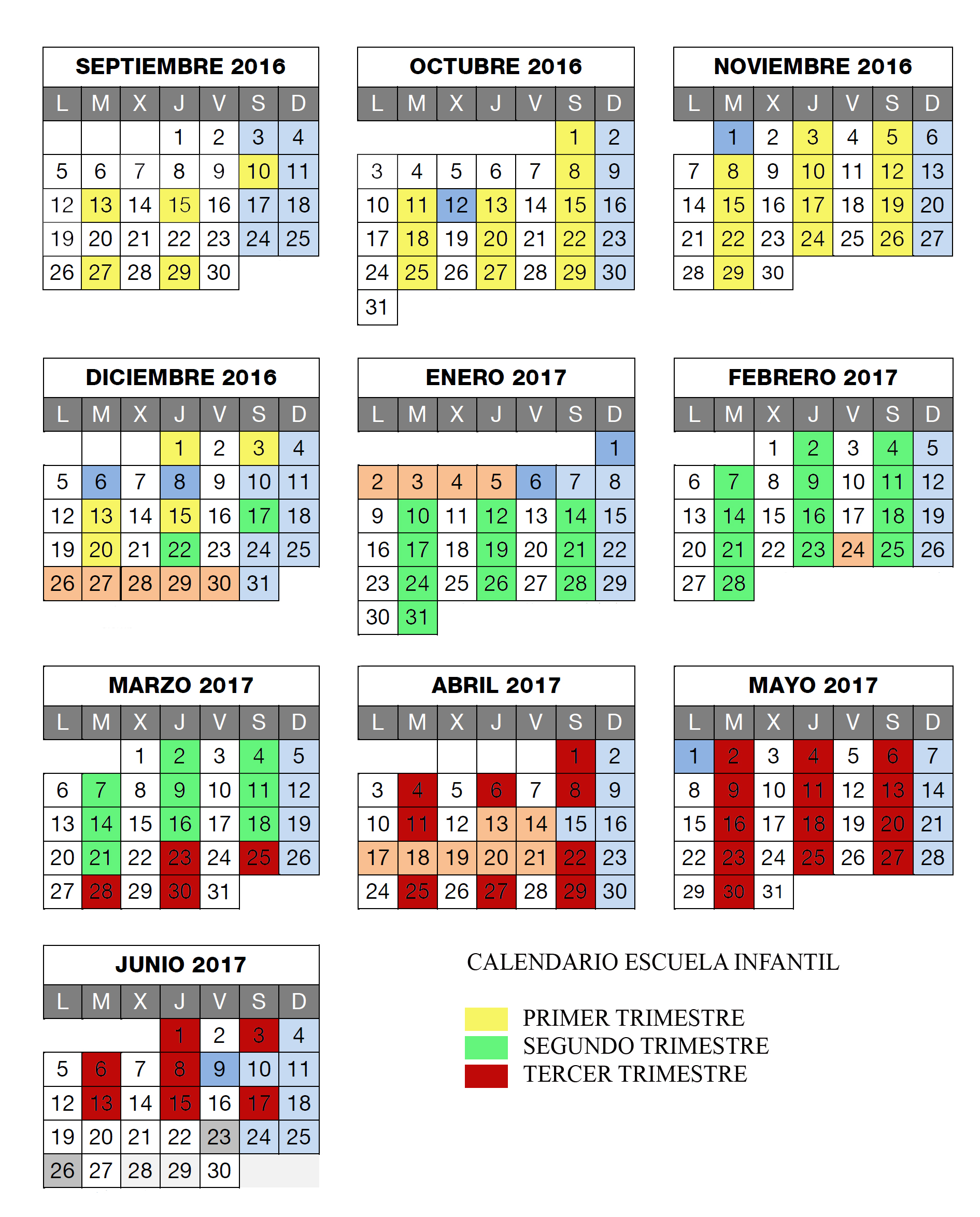 Calendarioescuela